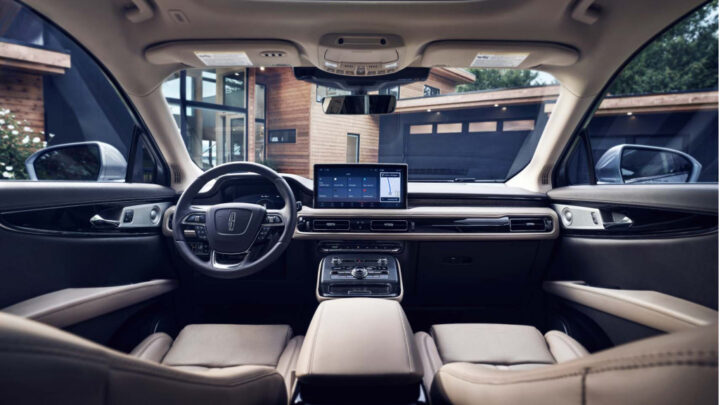 Preview: 2021 Lincoln Nautilus arrives with revamped interior
