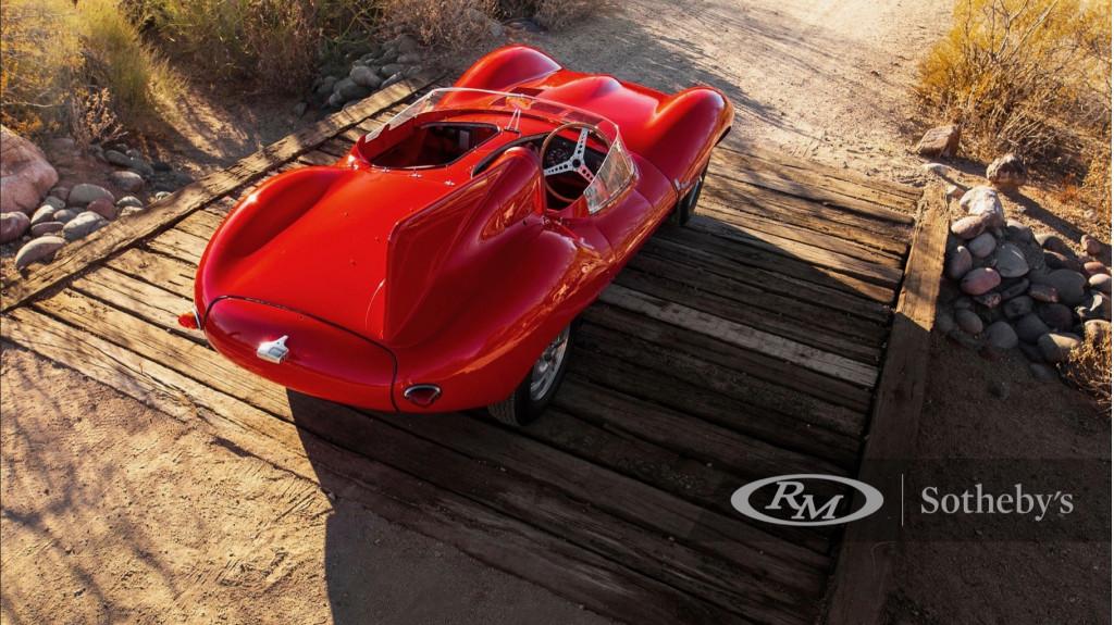 1955 Jaguar D-Type headed to auction