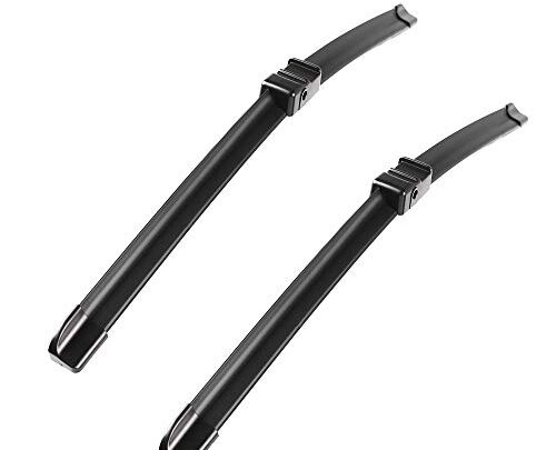 2 wipers Factory for BMW X5 E70 X6 E71 E72 2007-09/2011 Original Equipment Replacement Wiper Blade – 24″/20″ (Set of 2) Side Lock 22mm