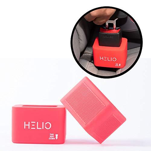 Car Seat Belt Buckle Holder (2-Pack) for Kids Toddlers Seniors Elderly Arthritis Special Needs | Holds Seatbelt Buckle Upright | Durable, Universal Design Fits Most Cars Trucks Minivans SUVs