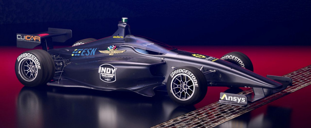 Driverless cars will race at Indy