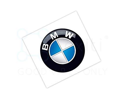 Genuine key emblem sticker 66122155753 – OEM 11mm remote key badge for all BMW models