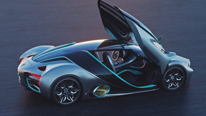 Hyperion XP-1 hydrogen supercar is real, first prototype hits the road