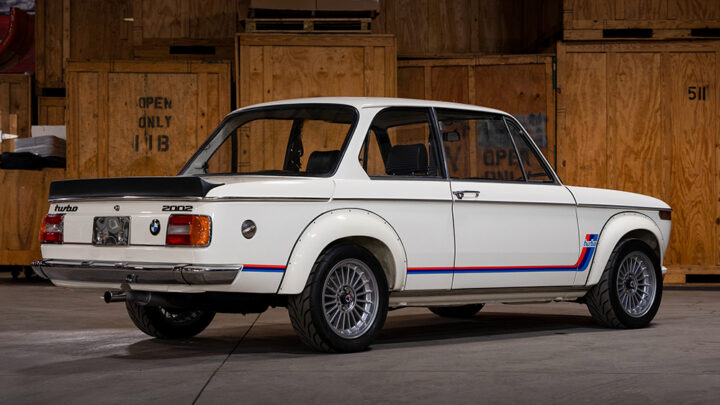 This Pristine 1974 BMW 2002 Turbo Is Heading to Auction – Robb Report