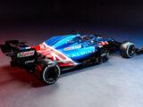 2021 Alpine A521 Formula One race car