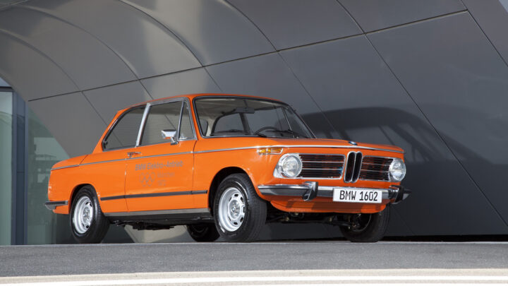 Frank Stephenson Discusses Concept Car Based BMW 1602 Electric