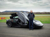 Gordon Murray's first drive in a GMA T.50 prototype