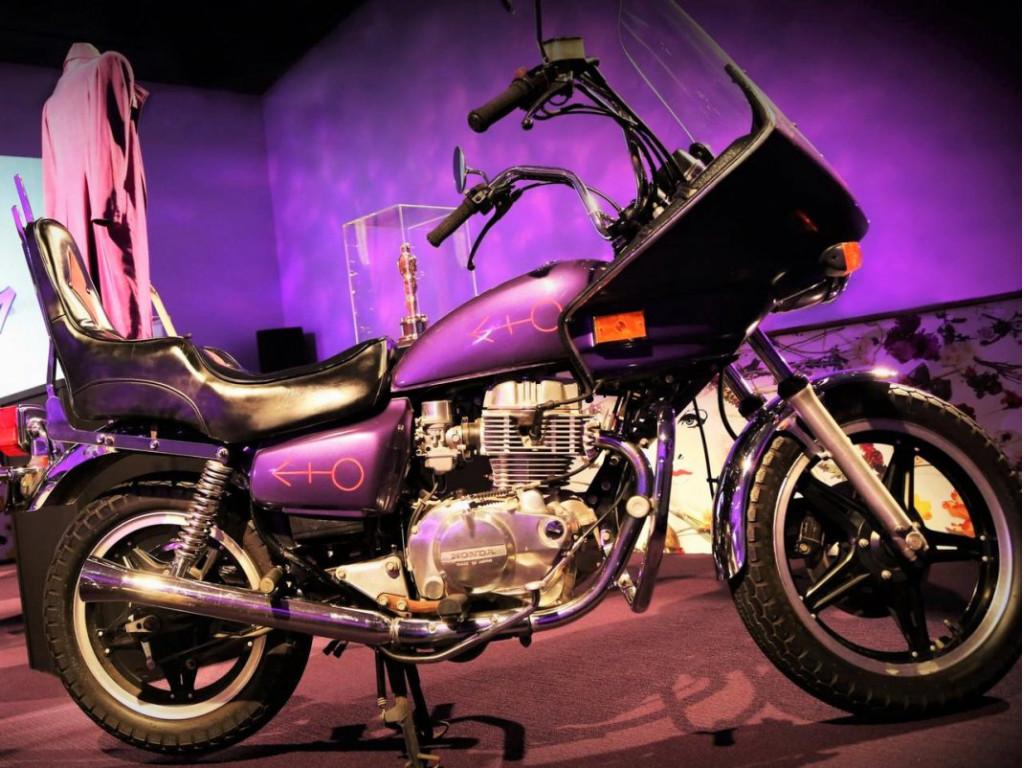 Prince's Purple Rain motorcycle   Escape