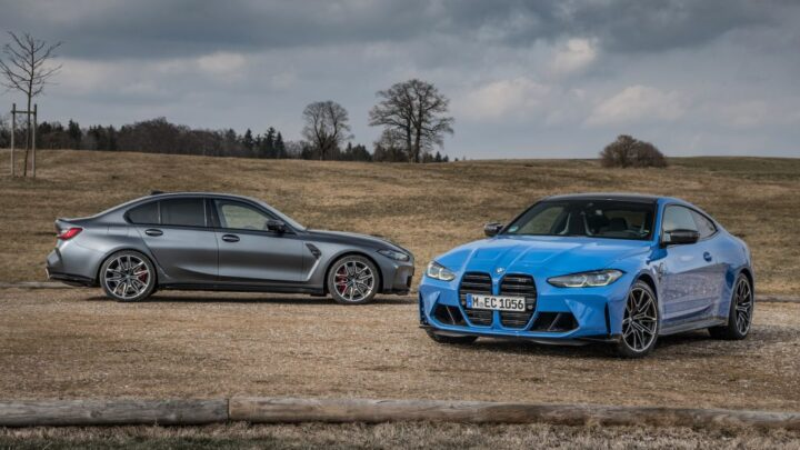All-Wheel Drive 2022 BMW M3 and M4 xDrive Are Faster but Lack a Manual Transmission