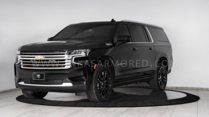 Armored 2021 Chevrolet Suburban arrives for all your soccer hauling needs
