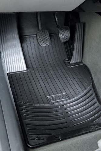 BMW E39 5 Series Genuine Factory OEM 82550151196 All Season Black Front Floor Mats 525i 528i 530i 540i 1997 – 2003 (set of 2 front mats)