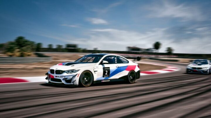 BMW M4 GT4 Onboard Lap of The Thermal Club
