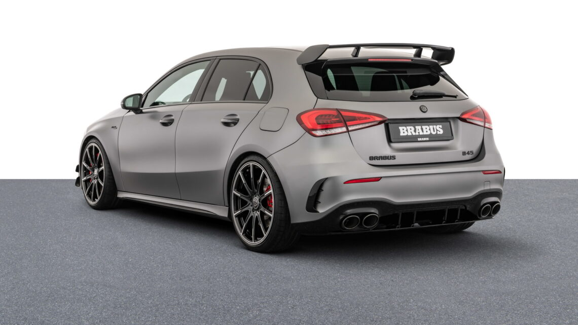 Brabus Mercedes-AMG A45 S Costs More Than A New BMW M3