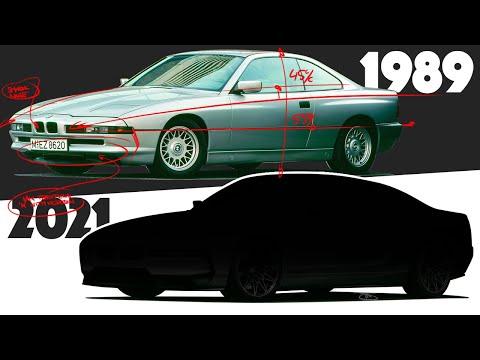 Original BMW 8 Series Modernized to Create the Ultimate Autobahn GT