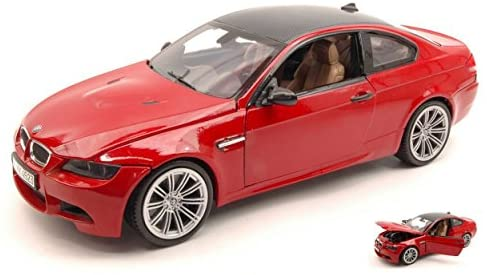 BMW M3 E92 Coupe Red 1/18 by Motormax 73182