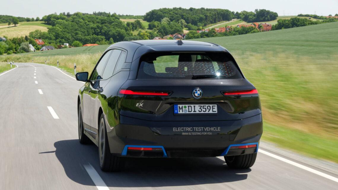 BMW iX: Leading electric technology