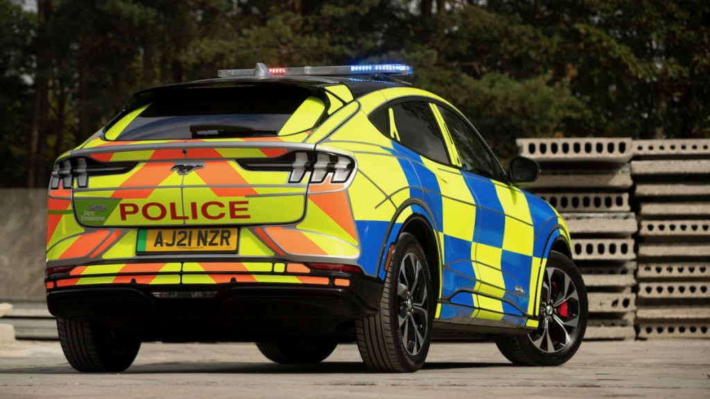 2021 Ford Mustang Mach-E U.K. police concept