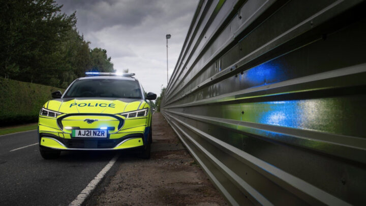 Ford Mustang Mach-E could become a police cruiser after passing crucial test