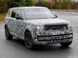 2023 Land Rover Range Rover teased ahead of Oct. 26 debut