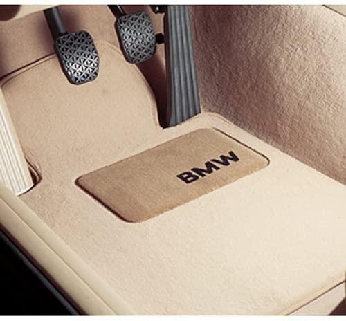 BMW 1 Series Coupe Genuine Factory OEM 82110439369″Gray (not beige) Carpet Floor Mats 2008-2012 (complete set of 4 mats)