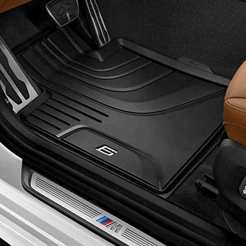 BMW 51472446289 All-Weather Floor Mats for G32 6 Series GT (Set of 2 Front Mats)
