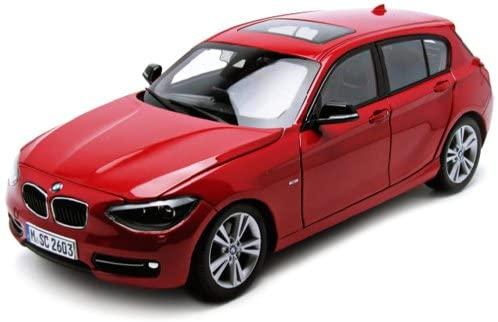 Paragon BMW F20 1 Series Red 1/18 Diecast Car Model
