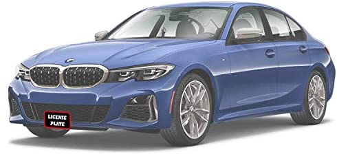 STO N SHO Front License Plate Bracket for 2019-2020 BMW M340i and 330i M Sport Without Adaptive Cruise Control